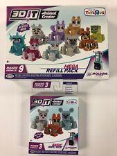 Jakks 3D It Animal Creator Refill Kits Makes 12 Animals