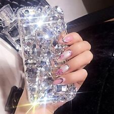 3D Bling Crystal Diamond Rhinestone Jewelled Hard Case Cover For Samsung S9 Plus