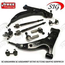 10Pc JPN Suspension Kit For Toyota Corolla 1993 1995 Control Arms Tie Rods Sway