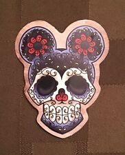 """Mickey Mouse De Los Muertos Day of the Dead sticker decal 2 1/2 """" x 2"""" US Ship"""
