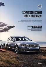 Volvo V70 XC70 S80 Selection 12 /  2015 catalogue brochure Sondermodell Limited