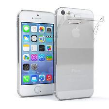 Ultra Slim Cover für Apple iPhone SE / 5 / 5S TPU Case Silikon Hülle Transparent