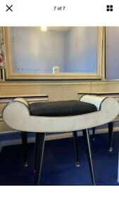 Umberto Mascagni vintage dressing table stool In Good Condition