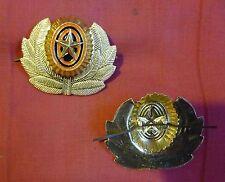 New listing Russian Army Infantry Military Uniform Hat Star w/Wreath Badge metal Cockade,New