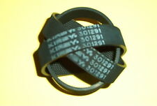 3 Knurled Kirby Vacuum Brush Roll Belts. Fit all Kirby since 1969 Part N 301291
