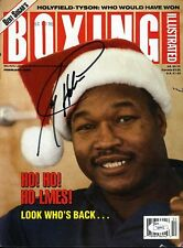 Larry Holmes Jsa Signed Boxing Magazine Cover Autograph Authentic