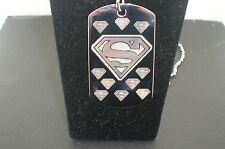 SUPERMAN COOL Dog Tag Pendant Necklace TAG 2