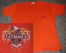 Fatman's Sports Bar Grill Lake Bowen SC T Shirt Medium Motorcycle Biker Eagle