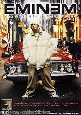 Eminem 2000 The Marshall Mathers Original Swedish Promo Poster