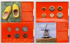 NETHERLANDS: Year-set: 6 mini-coins - Scale 1/2 (1999) UNC Blister