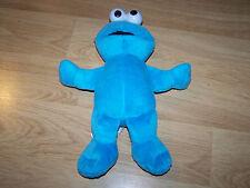 """Sesame Street 10"""" Cookie Monster Plush Animal 2010 Fisher Price Mattel EUC"""