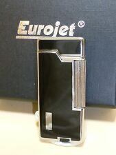 EURO JET Pipes Briquet - chrome/noir - & - 25212A