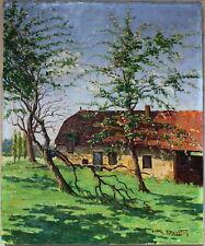 Félix Davoine peinture Crésancey Franche-Comté.