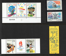 Olympics Andorran Stamps