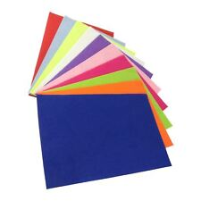 A4 Cut Felt Sheets - Multicolour Craft Sewing Haberdashery Coloured Assorted