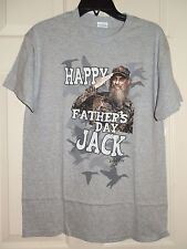 New Mens size Medium 38-40 Happy Father's Day Jack T-Shirt  Duck Dynasty
