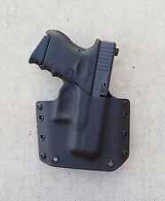 OWB Black Kydex Holster Glock 26/27/33