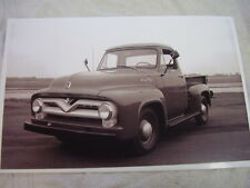 1955 FORD  1/2 TON PICKUP  11 X 17  PHOTO  PICTURE