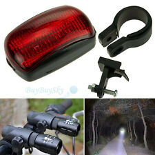 2xLED Mountain Bike Bicycle Cycling Zoomable Front Head Lights+5LED Rear light