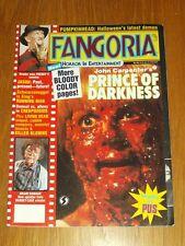 FANGORIA #69 PRINCE OF DARKNESS RUNNING MAN LIVING DEAD PUMPKINHEAD WITH POSTER