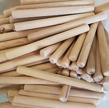 1 kg Buche Riffeldübel Holzdübel 16 mm x 180 mm - 1 kg = ca. 32 Stück