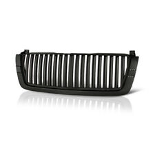 Chevy 2003-2006 Silverado 1500/2500 Avalanche Glossy Black Front Vertical Grille