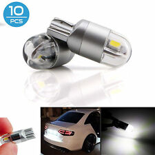 10x T10 W5W 2825 192 168 2LED Auto Interior Wedge  LED Light White Reverse Bulbs