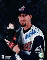 Matt Wise Signed 8X10 Photo Autograph Anaheim Angels Posing Auto w/COA