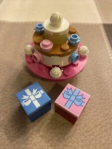 LEGO Birthday Cake With Gifts Lego City Minifigures