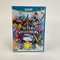 Super Smash Bros Nintendo Wii U Game - PAL PEGI 12+ Connects 3DS - Customisable
