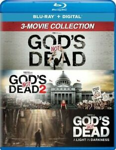 GOD'S NOT DEAD: 3 -MOVIE COLLECTION NEW BLURAY