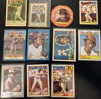 """11 Card """"Oddball"""" lot TONY GWYNN Padres HOFer Mini/Big/OPC+more NM/MT 1986-1988"""
