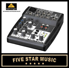 BEHRINGER 502 XENYX COMPACT MIXER 5 INPUT, 1 MICROPHONE PREAMP XENYX502 - NEW