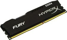 HyperX FURY Black 8GB 1X8GB Memory Module DDR4 2400MHz PC3-19200 DIMM Desktop