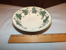 Wedgwood Napoleon Ivy Etruria & Barlaston 6 inch Bowl