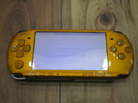 Sony PSP 3000 Console Bright Yellow Japan P337