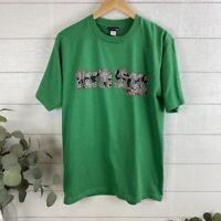 Volcom Men's Large NORTH SHORE Short Sleeve T-Shirt Green