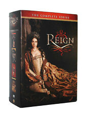 Reign: TV Series ~ Complete Season 1-3 & 4 (1 2 3 4) Brand New DVD Set
