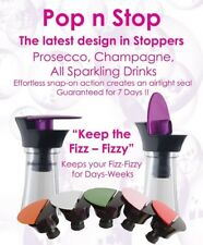 Processco Champagne, Fizzy Stopper; Keep the Fizz Fizzy