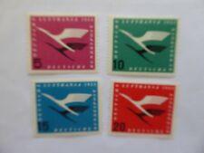 Germany 1955 Lufthansa set MNH