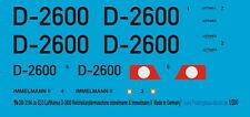 Peddinghaus 1/200 ep 3194 Ju 52/3m Lufthansa Immelmann & II