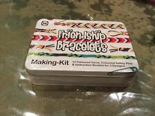 Friendship Bracelet Making Kit in a Metal Container- New