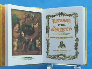 1:12 Scale Book , History of Toys 1913 Crafted By Ken Blythe