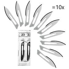 Carbon Steel Surgical Scalpel Blades no.23 - pack of 10 blades