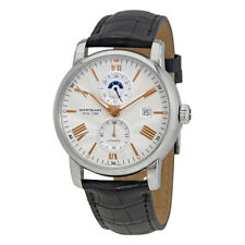 Montblanc 4810 Silvery White Dial Automatic Mens Watch 114857