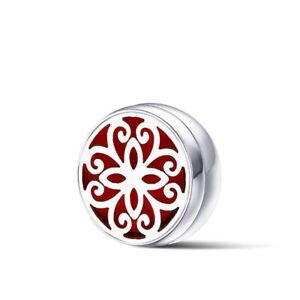 12mm  Stainless Steel Aromatherapy Essential Oil Diffuser Button For Face Massk