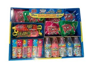 Ring Pop Push Pop Bottle Pop Juicy Drop Candy Variety Family Party Pack (40 ct.)