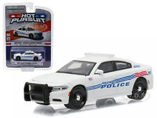 2015 DODGE CHARGER PURSUIT DETROIT POLICE CAR 1/64 MODEL BY GREENLIGHT 42770 D