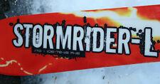 Stockli 08 - 09 Stormrider L Skis NO BINDINGS FLAT SKI 170cm r>16