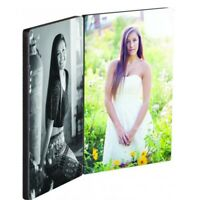 Personalised  Rectangle Double Photo Panel